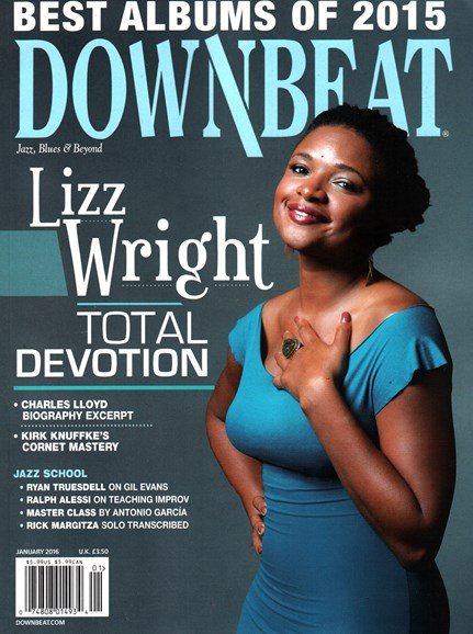 DownBeat Cover - 1/1/2016