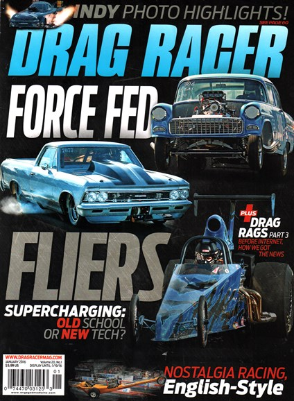 Drag Racer Cover - 1/1/2016