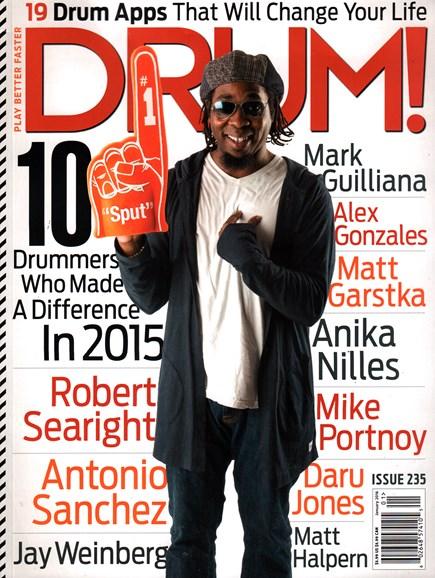 Drum! Cover - 1/1/2016