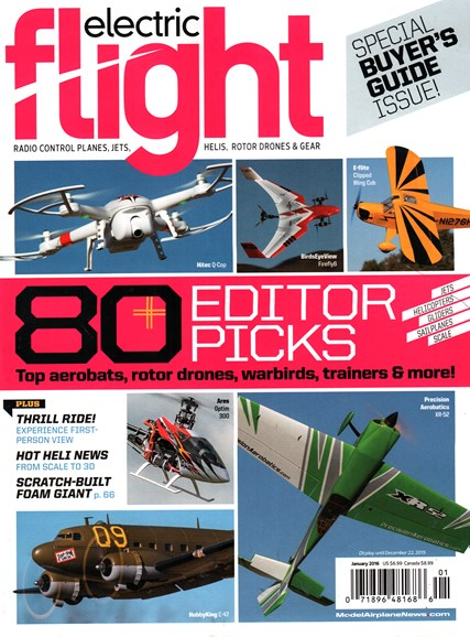 Electric Flight Cover - 1/1/2016