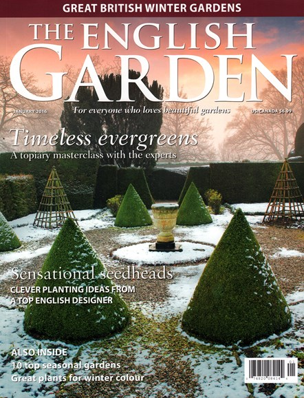 The English Garden Cover - 1/1/2016