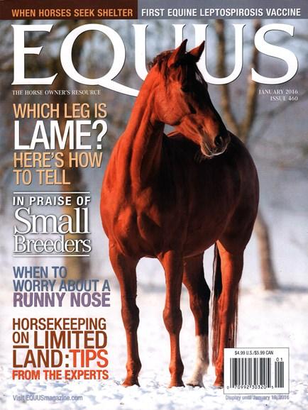 Equus Cover - 1/1/2016