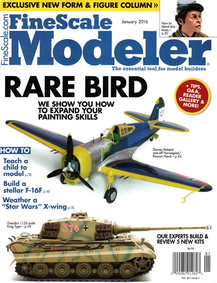 Finescale Modeler Cover - 1/1/2016
