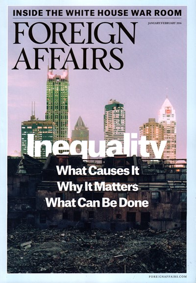 Foreign Affairs Cover - 1/1/2016