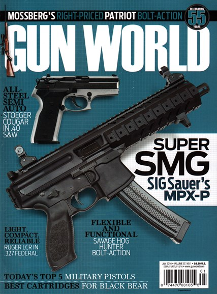 Gun World Cover - 1/1/2016