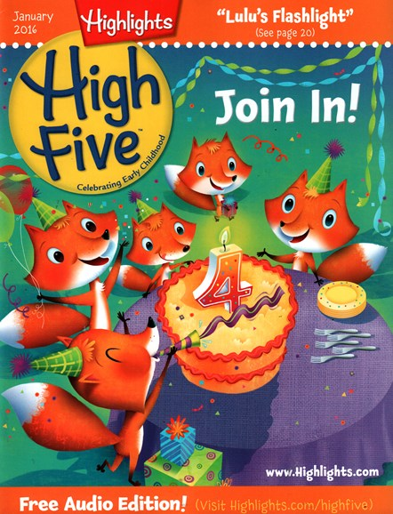 Highlights High Five Cover - 1/1/2016
