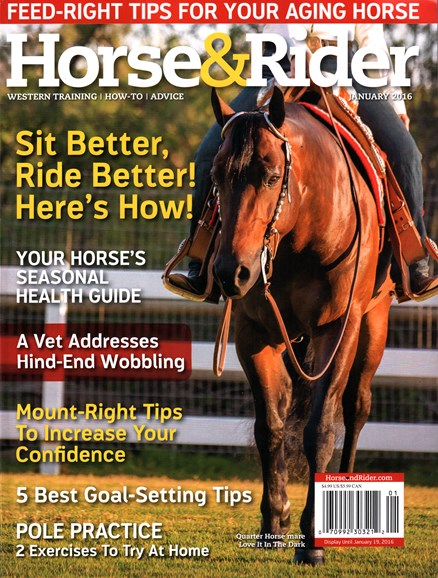Horse & Rider Cover - 1/1/2016