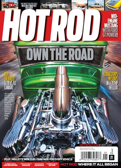 Hot Rod Cover - 1/1/2016