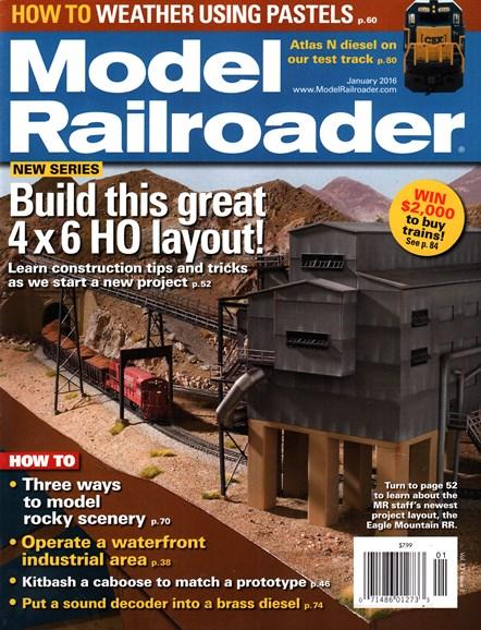 Model Railroader Cover - 1/1/2016