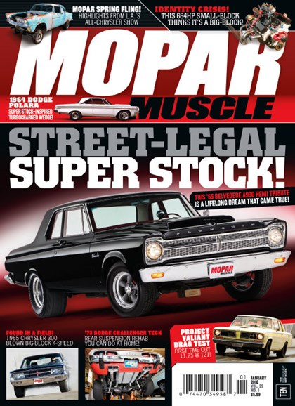 Mopar Muscle Cover - 1/1/2016