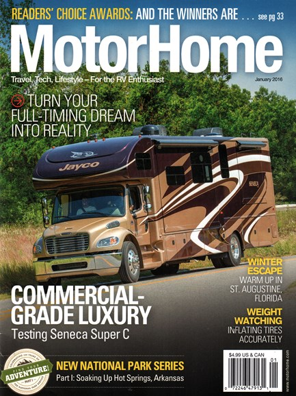 MotorHome Cover - 1/1/2016