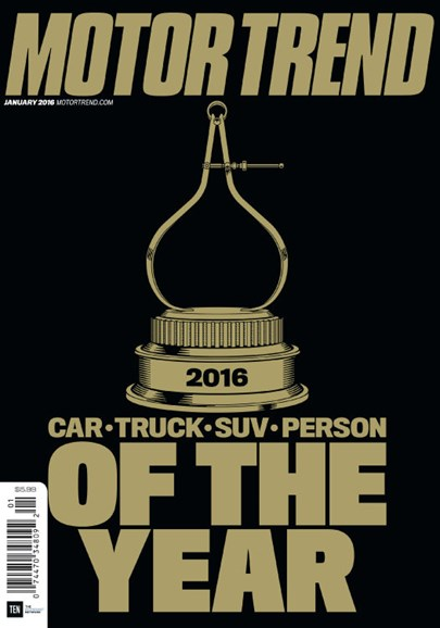 Motor Trend Cover - 1/1/2016