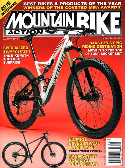 Mountain Bike Action Cover - 1/1/2016
