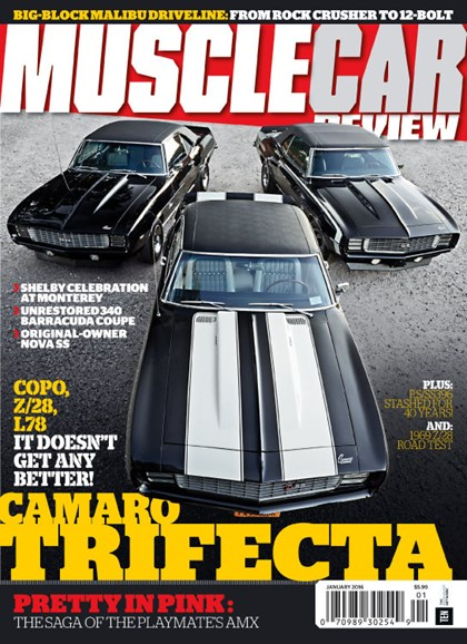 Muscle Car Review Cover - 1/1/2016