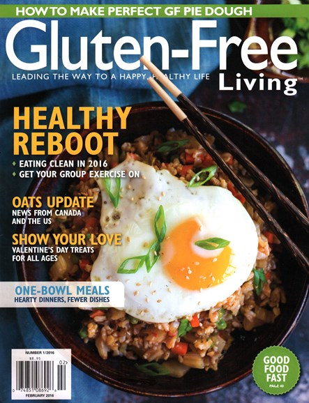Gluten-Free Living Cover - 1/1/2016