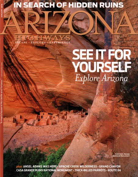 Arizona Highways Cover - 1/1/2016