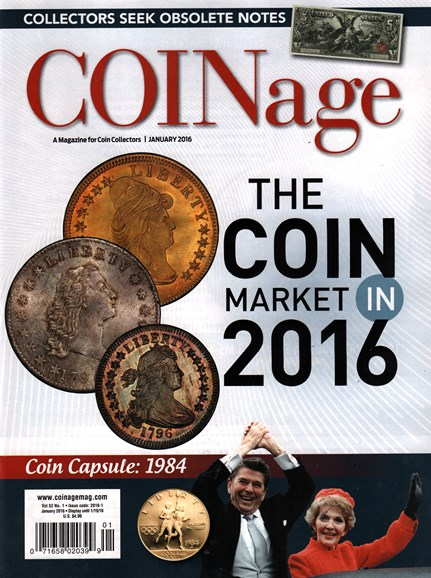 Coinage Cover - 1/1/2016
