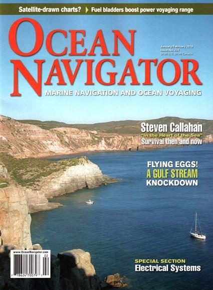 Ocean Navigator Cover - 1/1/2016
