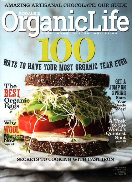 Organic Life Cover - 1/1/2016