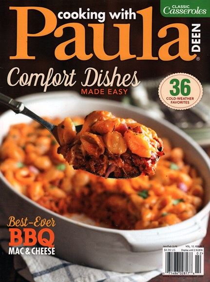 Cooking With Paula Deen Cover - 1/1/2016