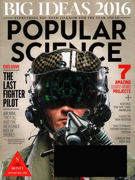 Popular Science Cover - 1/1/2016