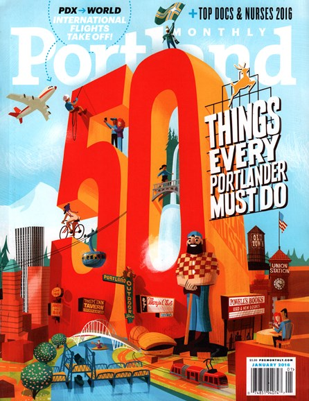 Portland Monthly Cover - 1/1/2016