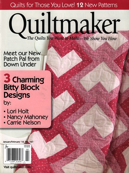 Quiltmaker Cover - 1/1/2016