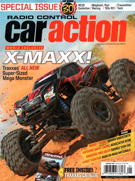 Radio Control Car Action Cover - 1/1/2016