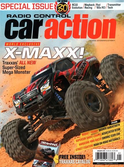 Radio Control Car Action Cover - 1/1/2016