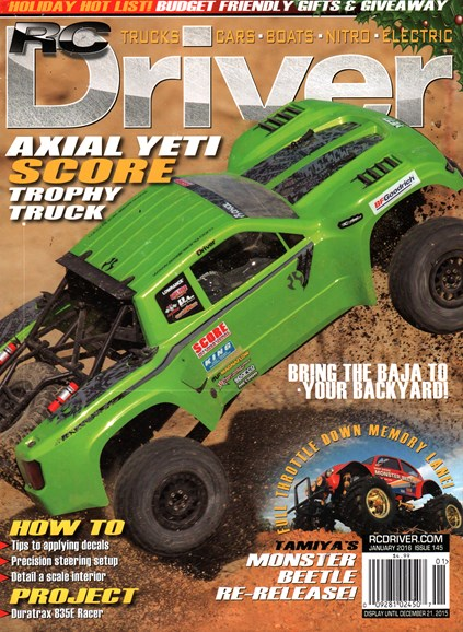 RC Driver Cover - 1/1/2016