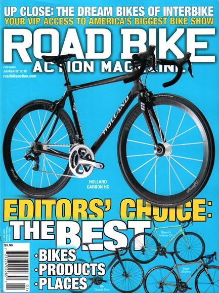 Road Bike Action Cover - 1/1/2016
