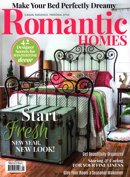 Romantic Homes Cover - 1/1/2016