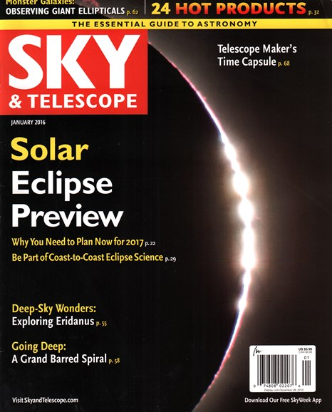 Sky & Telescope Cover - 1/1/2016