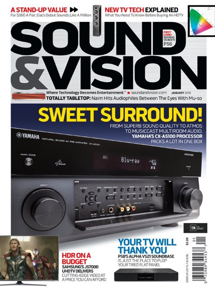 Sound & Vision Cover - 1/1/2016
