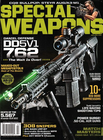 Special Weapons for Military & Police Cover - 1/1/2016