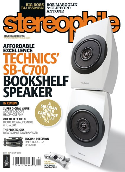 Stereophile Cover - 1/1/2016