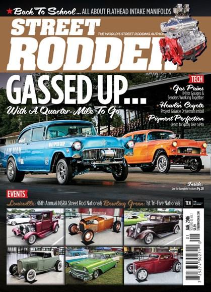 Street Rodder Cover - 1/1/2016