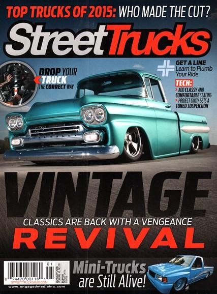 Street Trucks Cover - 1/1/2016