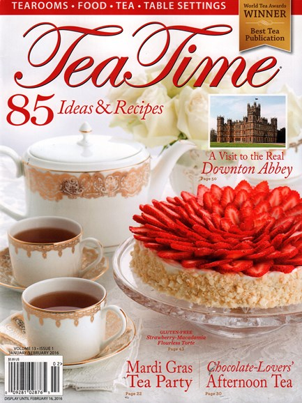 Tea Time Cover - 1/1/2016