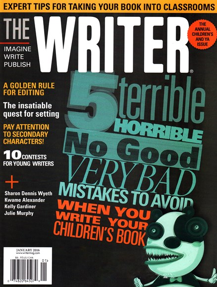The Writer Cover - 1/1/2016