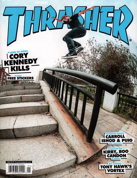 Thrasher Cover - 1/1/2016