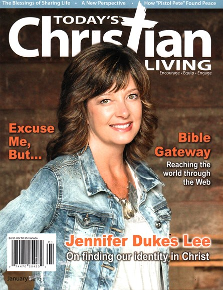 Today's Christian Living Cover - 1/1/2016
