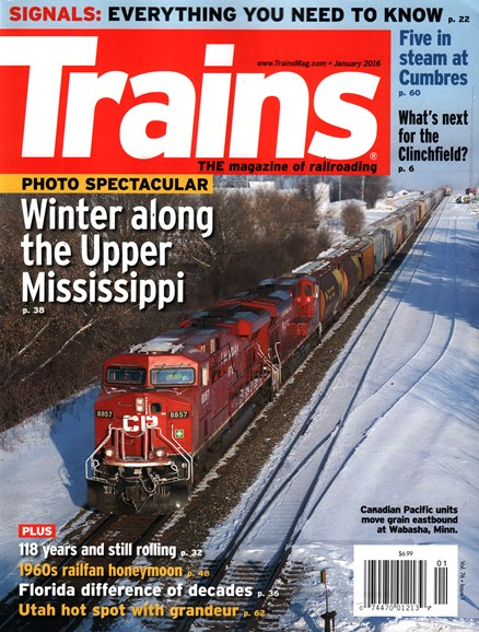 Trains Cover - 1/1/2016