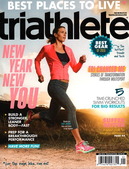 Triathlete Cover - 1/1/2016