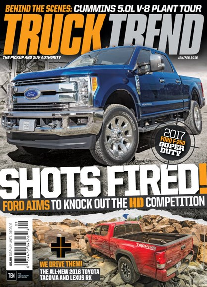 Truck Trend Cover - 1/1/2016