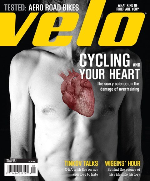 VeloNews Cover - 8/1/2015