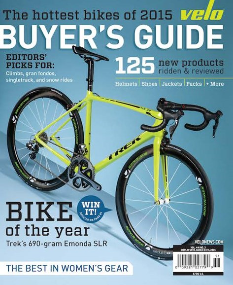 VeloNews Cover - 2/1/2015