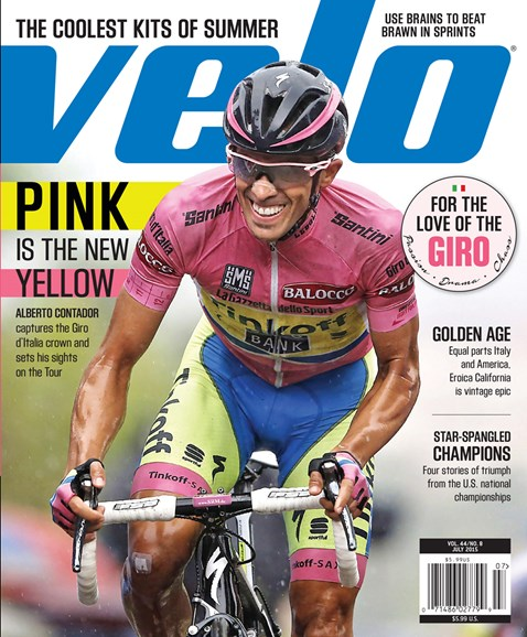 VeloNews Cover - 7/1/2015
