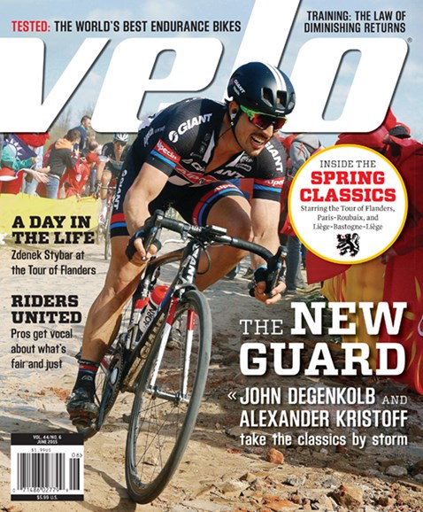VeloNews Cover - 6/1/2015