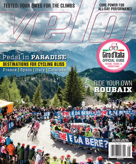 VeloNews Cover - 5/1/2015